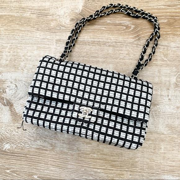 CHANEL Handbags - Chanel Quilted Large Flap Shoulder Bag.